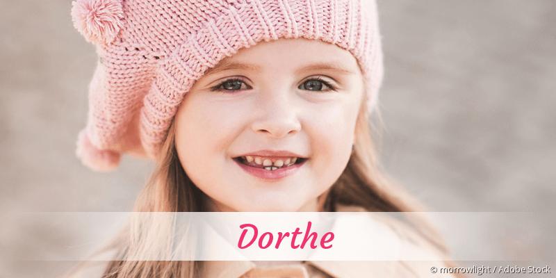Name Dorthe als Bild