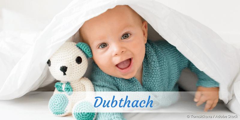 Name Dubthach als Bild
