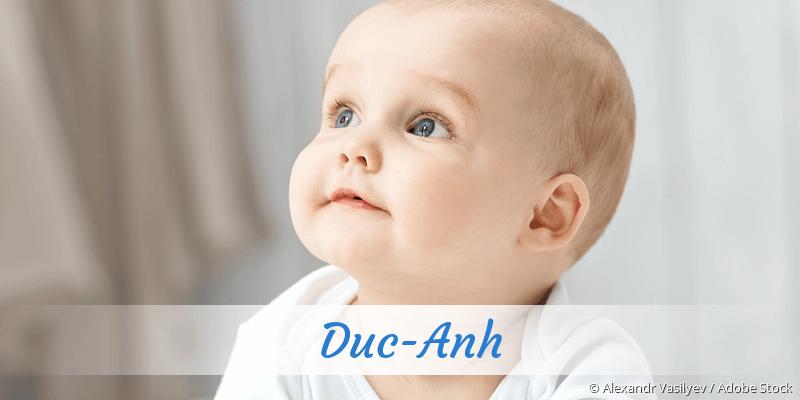 Name Duc-Anh als Bild