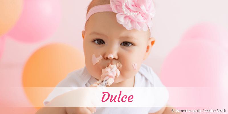 Name Dulce als Bild