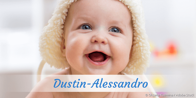 Name Dustin-Alessandro als Bild
