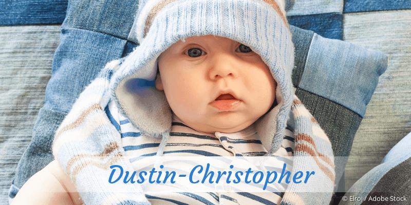 Name Dustin-Christopher als Bild