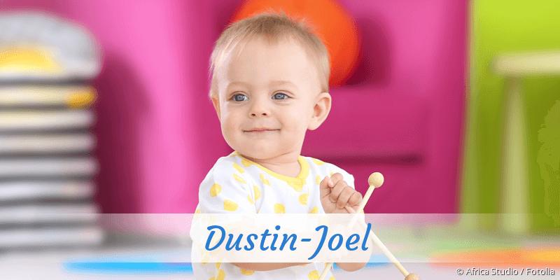 Name Dustin-Joel als Bild