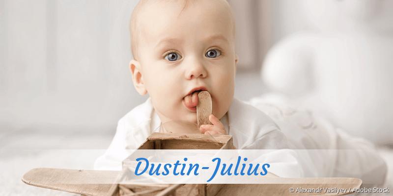 Name Dustin-Julius als Bild