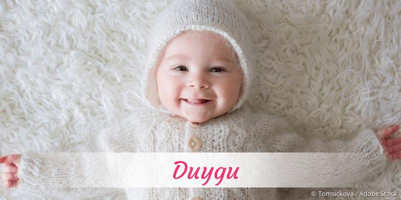Name Duygu als Bild