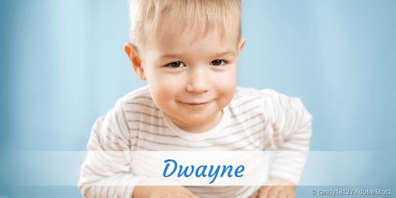 Name Dwayne als Bild