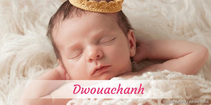 Name Dwouachanh als Bild