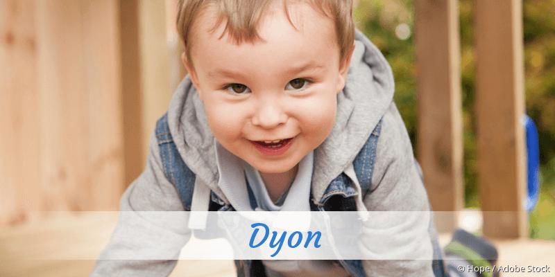Name Dyon als Bild