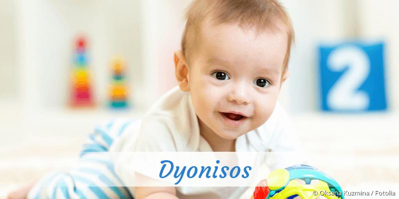 Name Dyonisos als Bild