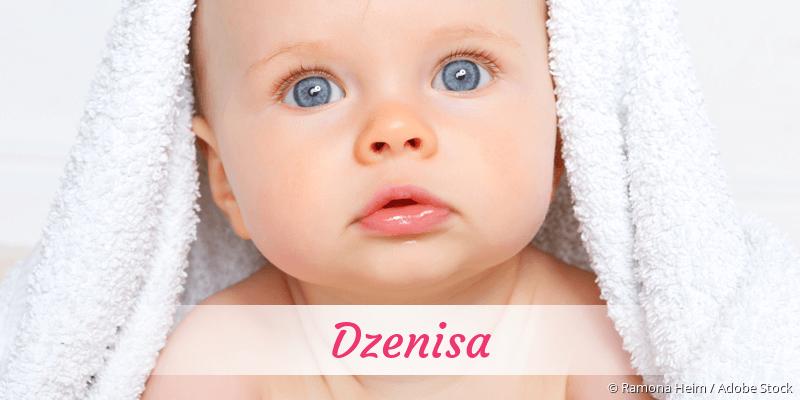 Name Dzenisa als Bild