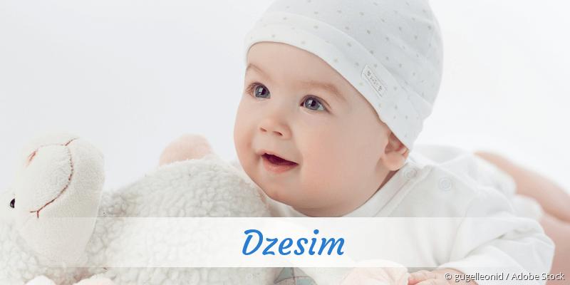 Name Dzesim als Bild