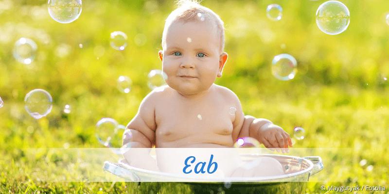Name Eab als Bild
