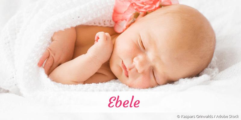 Name Ebele als Bild