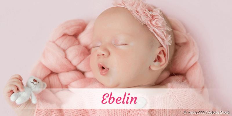 Name Ebelin als Bild