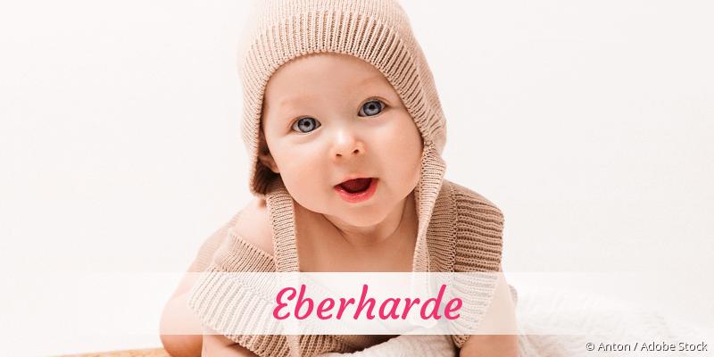 Name Eberharde als Bild