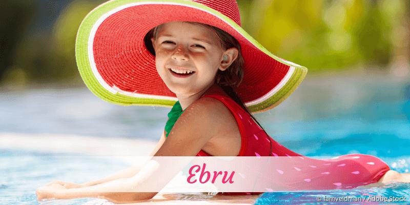Name Ebru als Bild