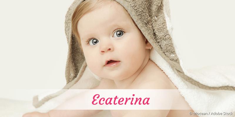 Name Ecaterina als Bild