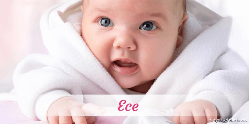 Name Ece als Bild