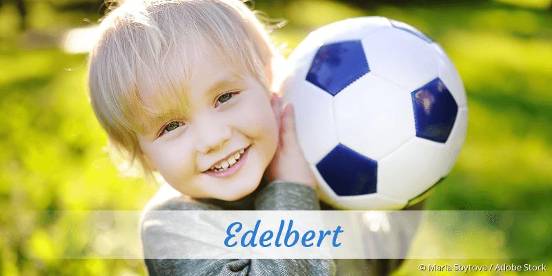 Name Edelbert als Bild