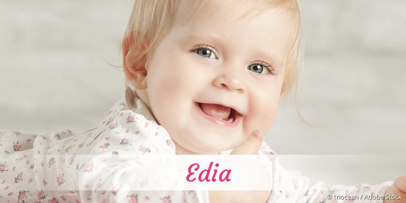 Name Edia als Bild