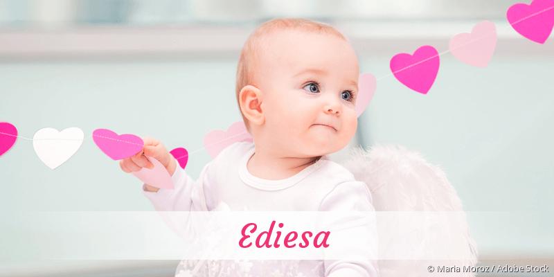 Name Ediesa als Bild