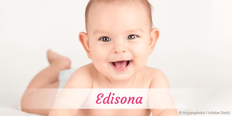Name Edisona als Bild