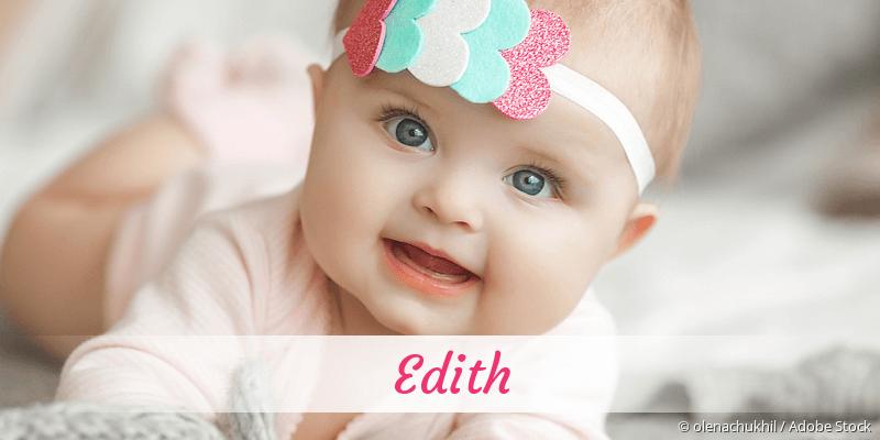 Name Edith als Bild