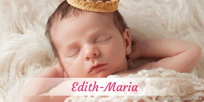 Name Edith-Maria als Bild