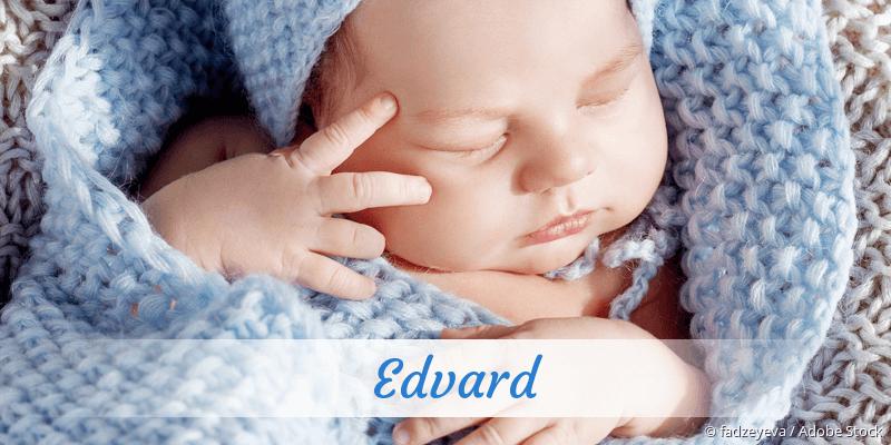 Name Edvard als Bild