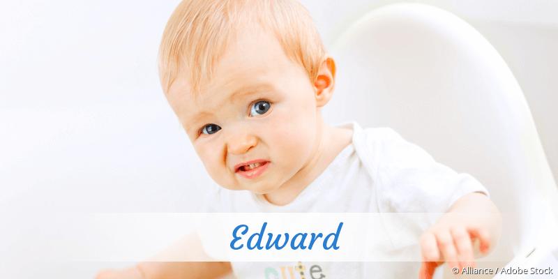 Name Edward als Bild