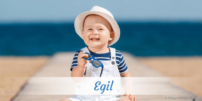 Name Egil als Bild