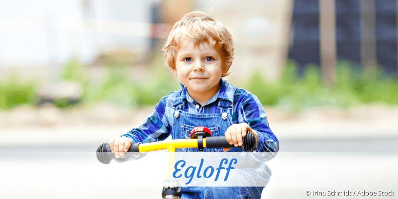 Name Egloff als Bild