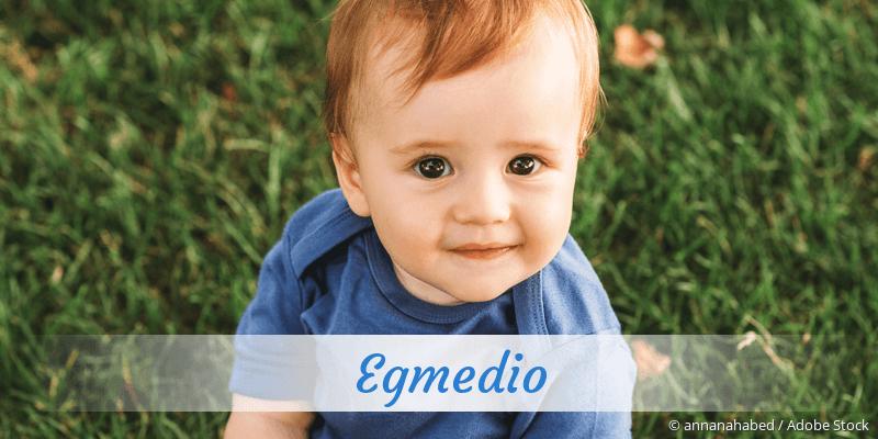 Name Egmedio als Bild