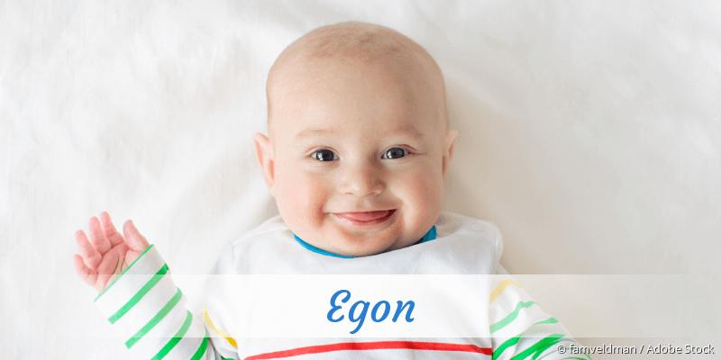 Name Egon als Bild