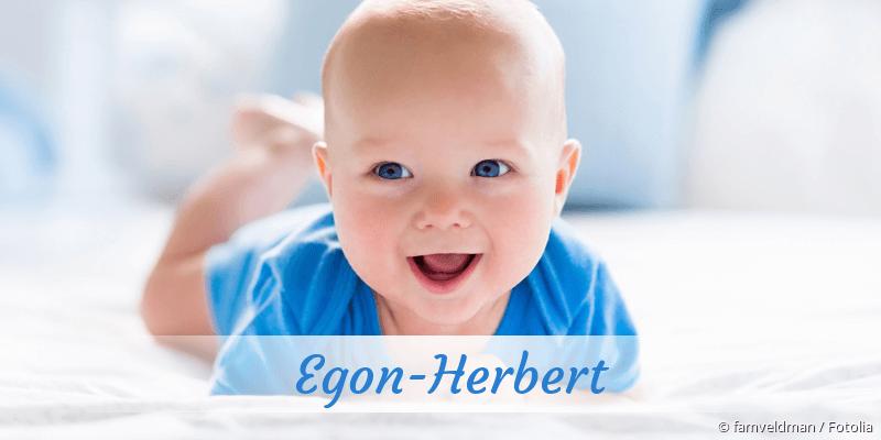 Name Egon-Herbert als Bild