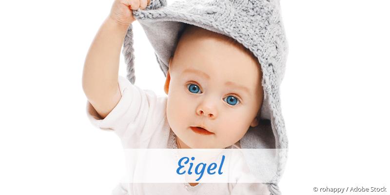 Name Eigel als Bild