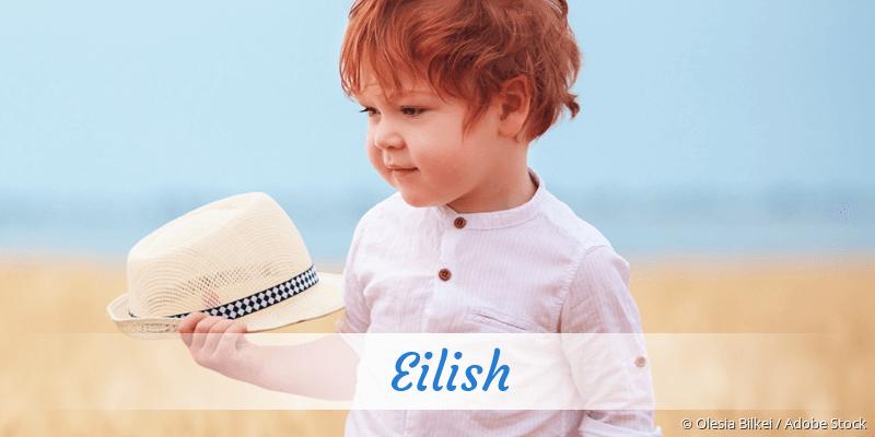 Name Eilish als Bild