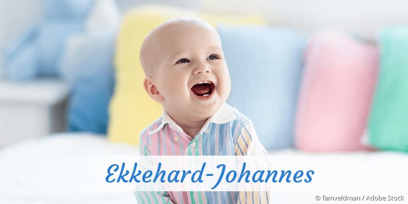 Name Ekkehard-Johannes als Bild