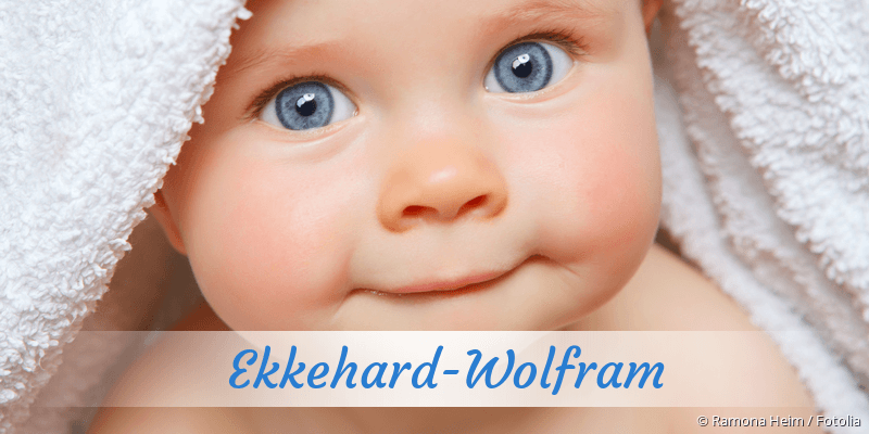 Name Ekkehard-Wolfram als Bild