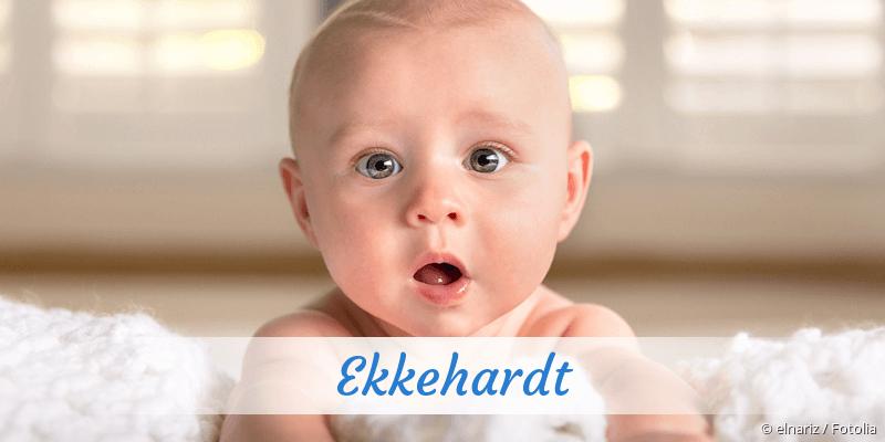 Name Ekkehardt als Bild