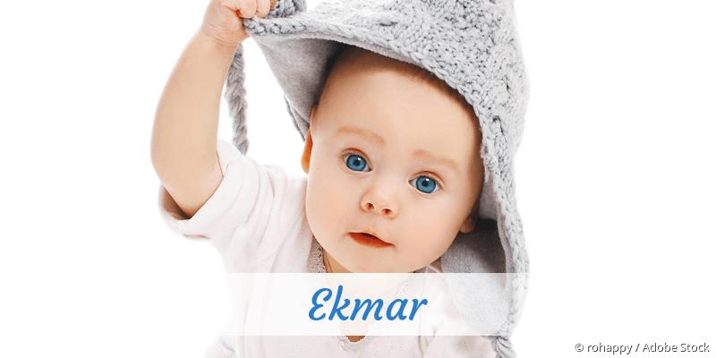 Name Ekmar als Bild