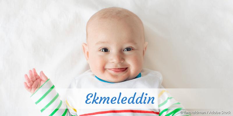 Name Ekmeleddin als Bild