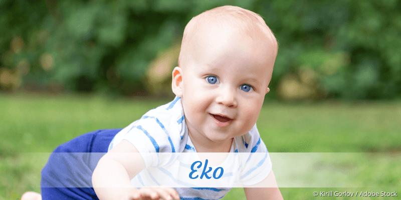 Name Eko als Bild