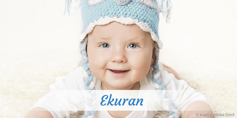 Name Ekuran als Bild