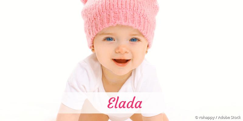 Name Elada als Bild