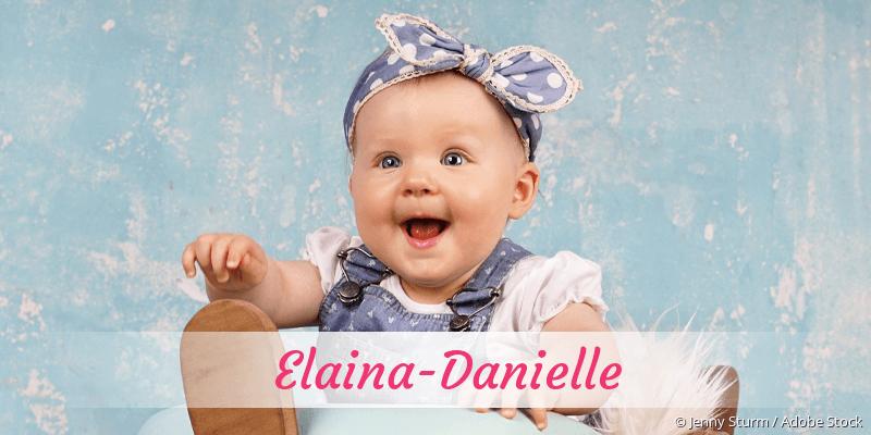Name Elaina-Danielle als Bild