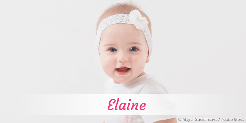 Name Elaine als Bild
