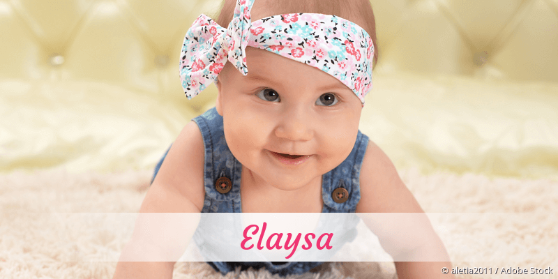 Name Elaysa als Bild