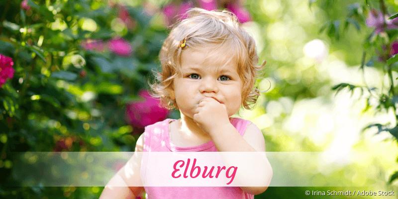Name Elburg als Bild