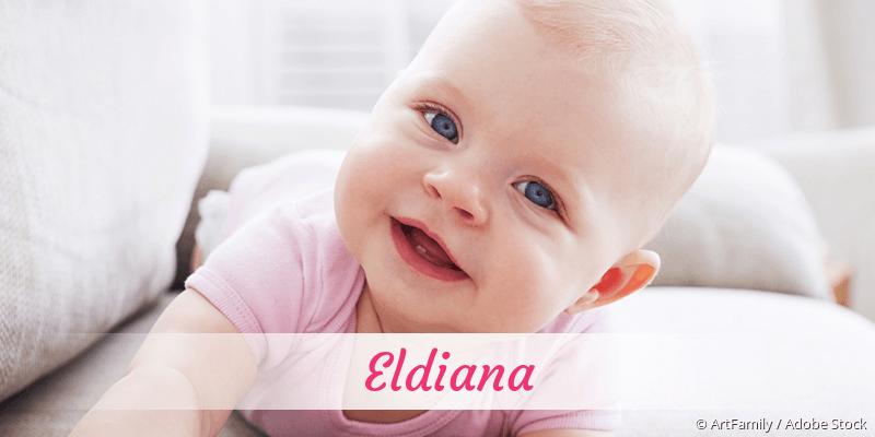 Name Eldiana als Bild